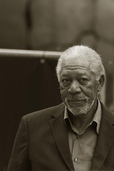 Mister Morgan Freeman In Portrait Orientation by berndt2