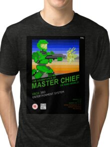 Master Chief NES box Tri-blend T-Shirt