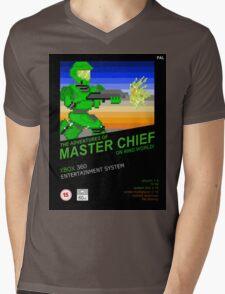Master Chief NES box Mens V-Neck T-Shirt