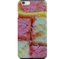 Battenberg cake  iPhone case iPhone Case/Skin