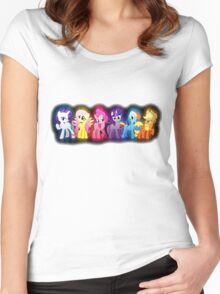 Mane Six Women's Fitted Scoop T-Shirt