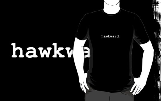 hawkward. by Flippinawesome