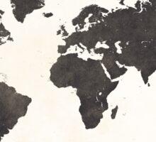 World map classic Sticker