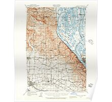 USGS Topo Map Oregon OR Hillsboro 282579 1915 62500 Poster