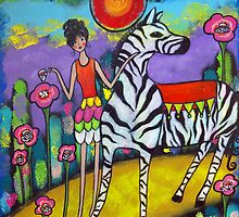 A Zebra Tea Party by Juli Cady Ryan