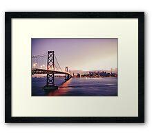 Bridge at Dusk Framed Print