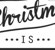 all i want for christmas is Channing Tatum Sticker