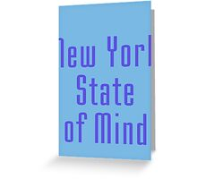 New York State of Mind - T-Shirt Greeting Card