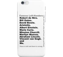 Lefties iPhone Case/Skin