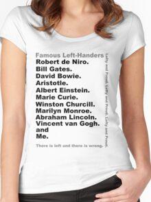 Lefties Women's Fitted Scoop T-Shirt