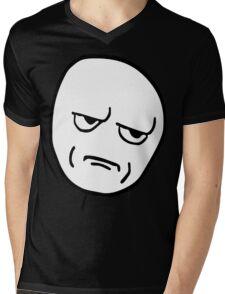 Rage Face Mens V-Neck T-Shirt