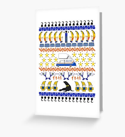 Arrested Development Ugly Sweater Greeting Card