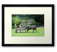 Full speed 3 Framed Print