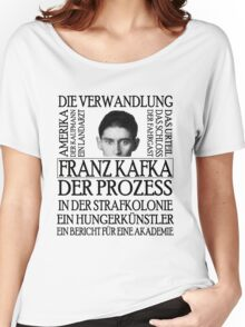 Kafka Women's Relaxed Fit T-Shirt