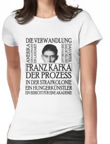 Kafka Womens Fitted T-Shirt