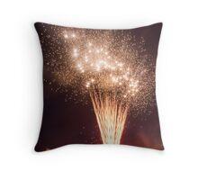 Riverfest Fireworks 2012 Throw Pillow