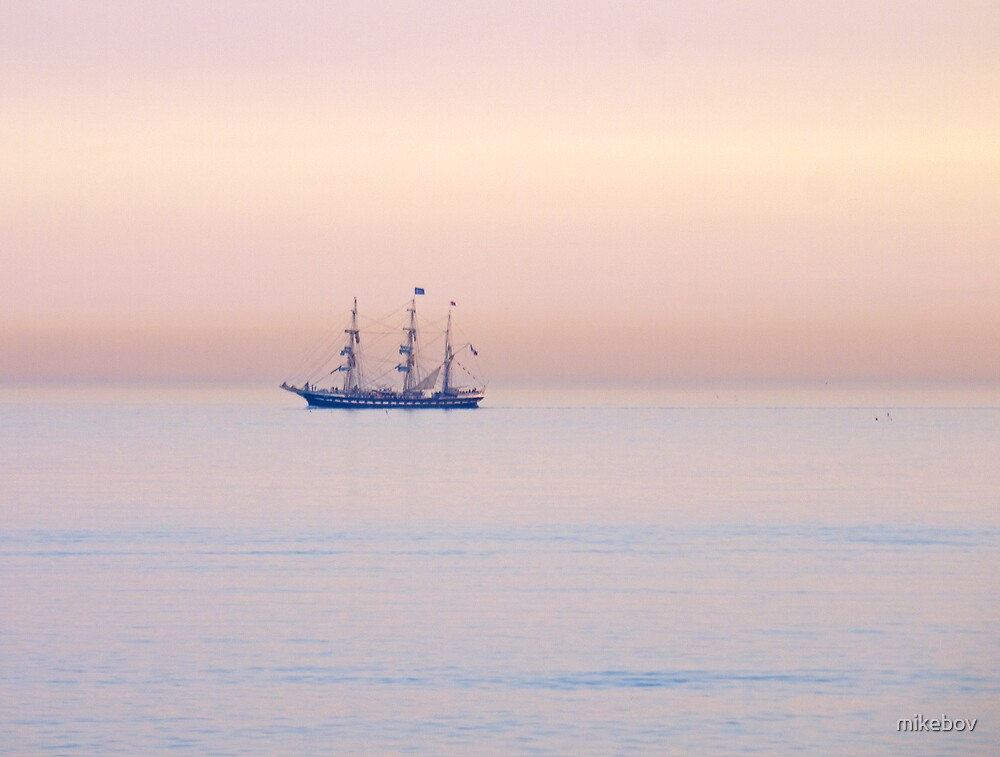 Tall Ship by mikebov