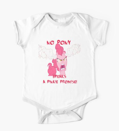 No Pony Breaks A Pinkie Promise One Piece - Short Sleeve