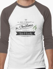 all i want for christmas is Tom Hardy Men's Baseball ¾ T-Shirt