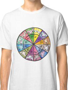"""Oro?"" Astrology Wheel Classic T-Shirt"