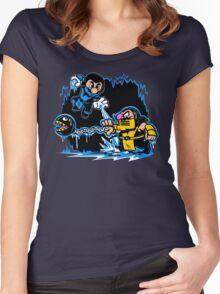 Mario Kombat Women's Fitted Scoop T-Shirt