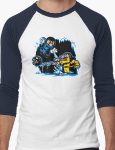 Mario Kombat Men's Baseball ¾ T-Shirt