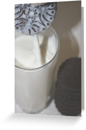 Oops! I Dropped my cookie in my milk. by Stephen Thomas