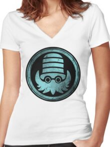 Hail Helix 2.0 Women's Fitted V-Neck T-Shirt