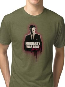 MORIARTY WAS REALly sexy (version 2) Tri-blend T-Shirt