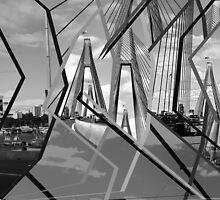 ANZAC Bridge Montage by Ali Choudhry