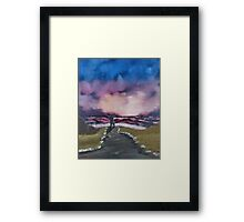"""Simple Praise""  by Carter L. Shepard Framed Print"