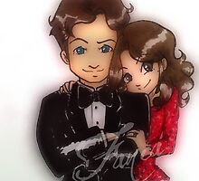Caskett party by fania