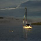 Yacht on Clarence by myraj