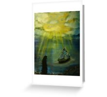 """The Calling""  by Carter L. Shepard Greeting Card"