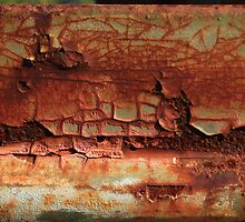 Chunk of Rust Found on Old Bedford by Carol James