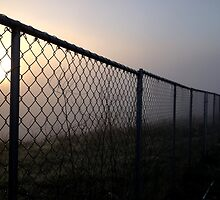 Fenced Sun by IntricateKnot