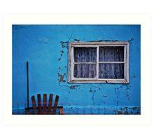 blue yonder Art Print