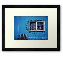 blue yonder Framed Print