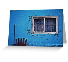 blue yonder Greeting Card