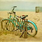 Just another bikes at the beach photo... by Suzanne Cummings