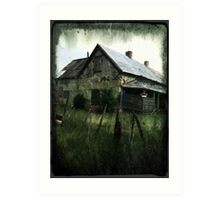mansion of concho Art Print