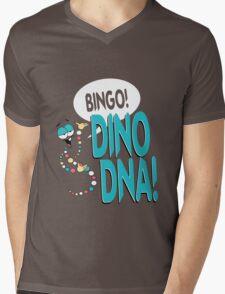 Dino DNA Mens V-Neck T-Shirt