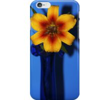 Bright yellow Lilly iPhone case iPhone Case/Skin