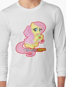 Fluttershy swag  Long Sleeve T-Shirt