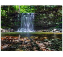 Harrison Wright Falls July 2012 Photographic Print