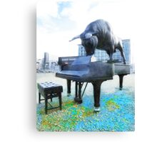 A World of Art and Music Canvas Print
