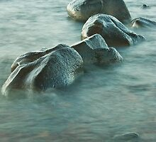 Rocks in Water by April Koehler