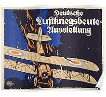 Deutsche Luftkriegsbeute Ausstellung 1346 Poster