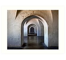 Inside Castillo San Cristobal Art Print