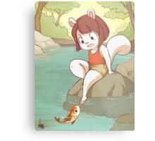 Chippe the Squirrel Metal Print